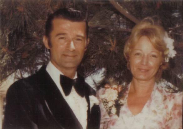My paternal grandparents William and Margaret Kernan, 1977